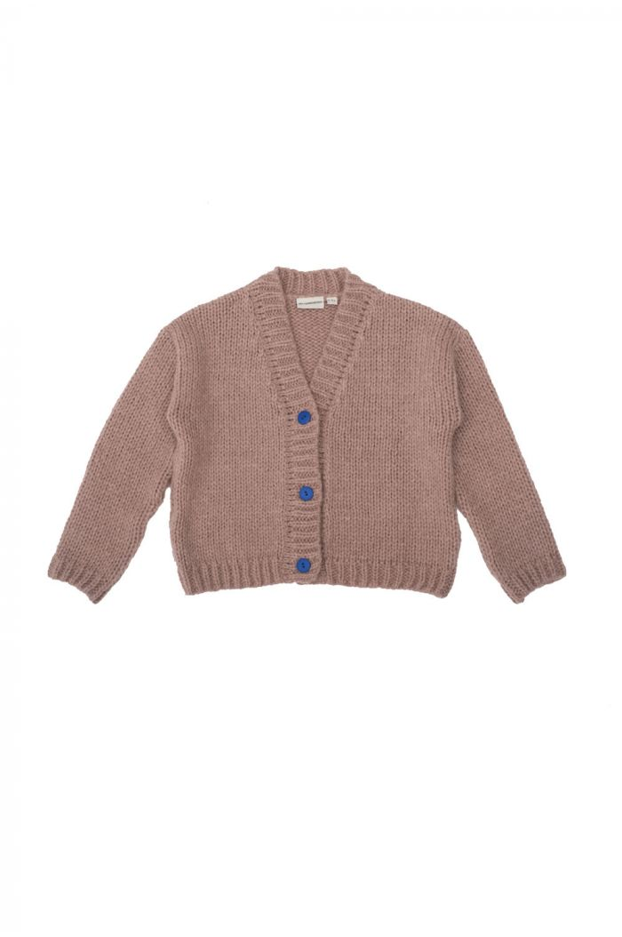 The Campamento Knitted Jacquet Pink_1