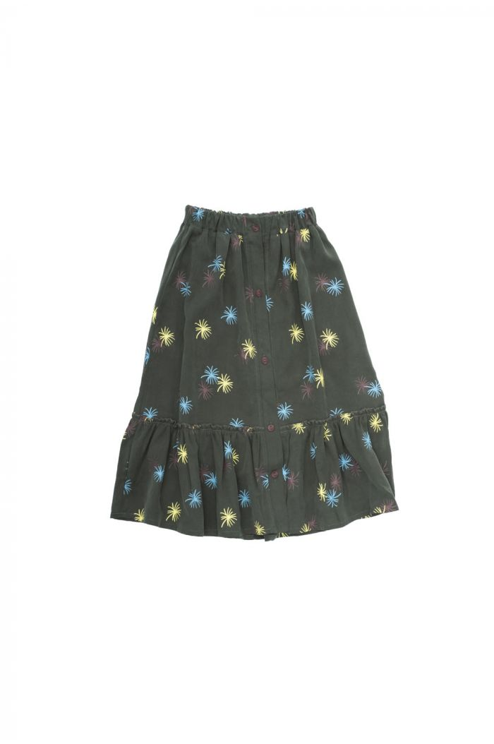 The Campamento Party Skirt Green_1