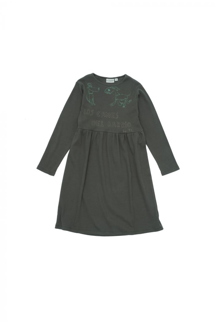 The Campamento Dogs Dress Green_1