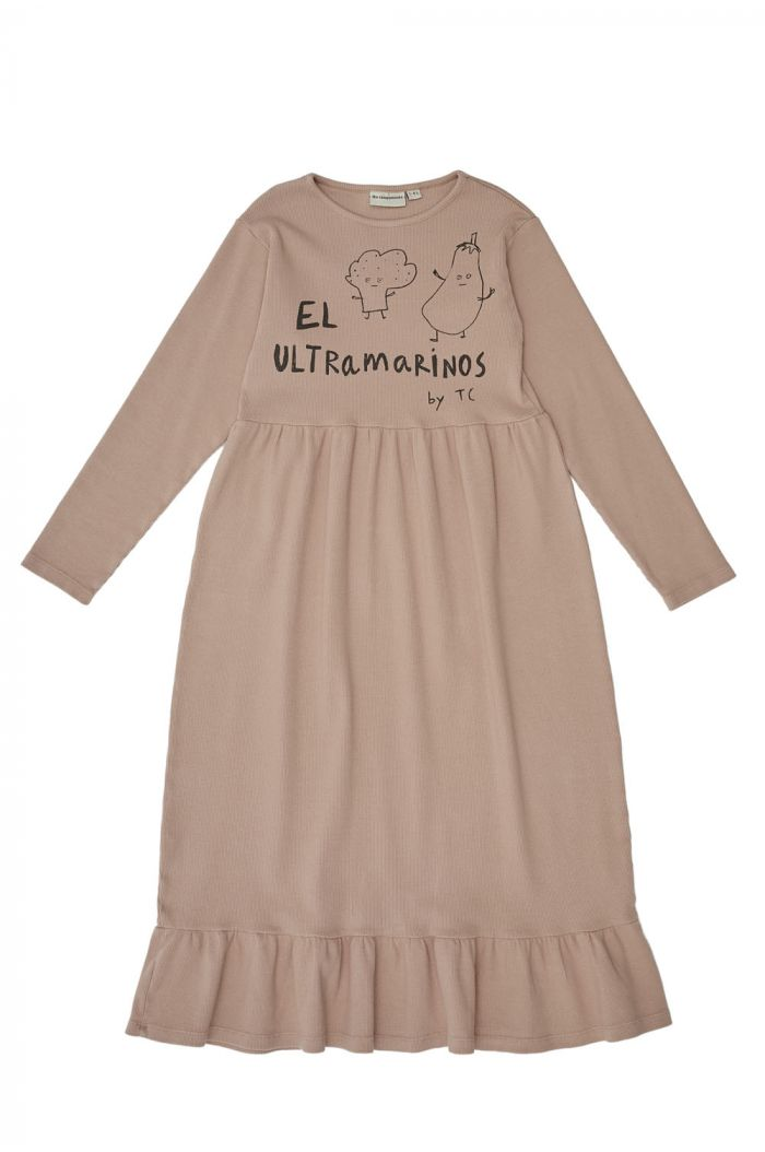 The Campamento El Ultramarinos Dress Pink_1