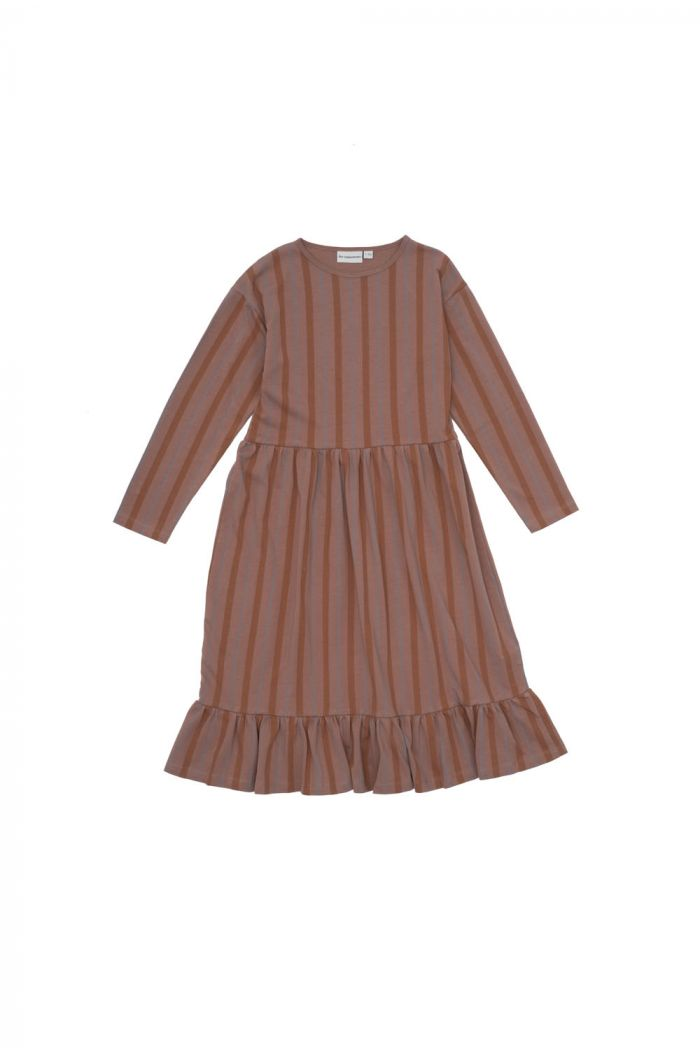 The Campamento Striped Dress Pink_1