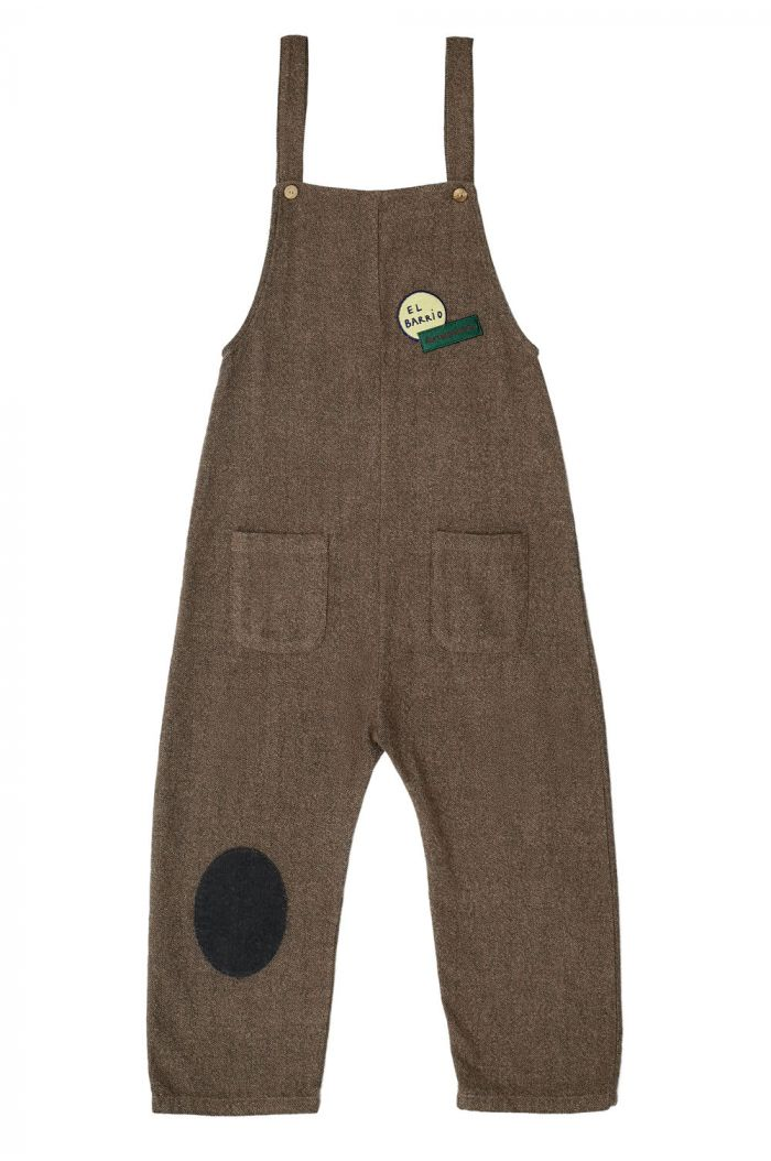 The Campamento Patch Overall Brown_1