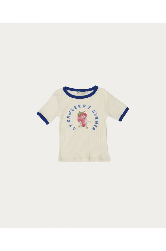 The Campamento Strawberry T-shirt White_1
