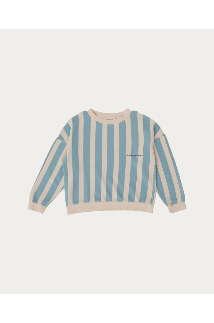 The Campamento Striped Sweatshirt Pink_1