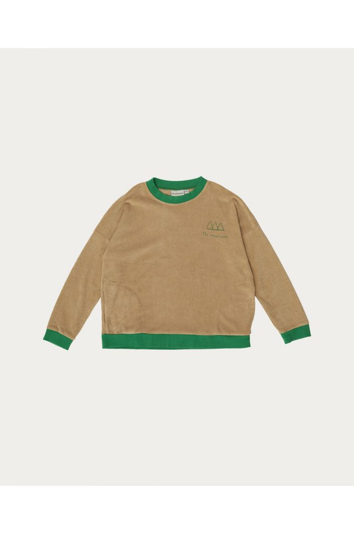 The Campamento Logo Sweatshirt Brown_1