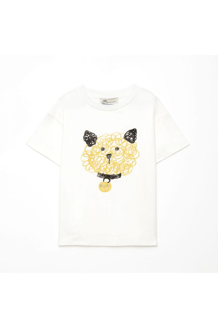 Weekend House Kids Dog t-shirt White_1