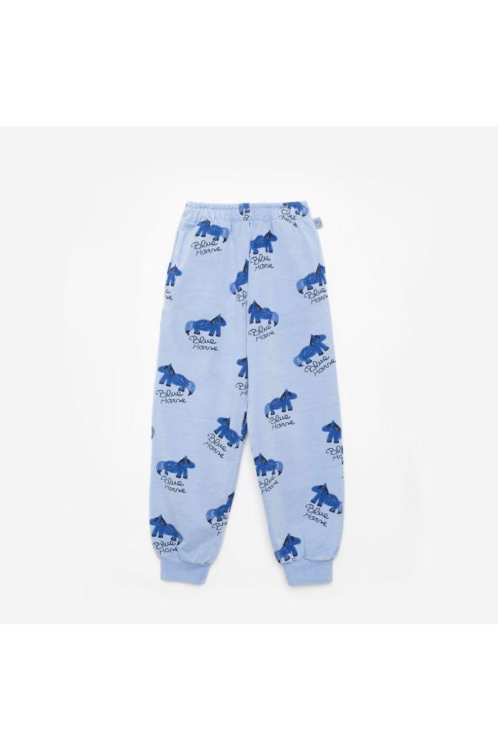 Weekend House Kids Blue Horse pants Pastel blue_1