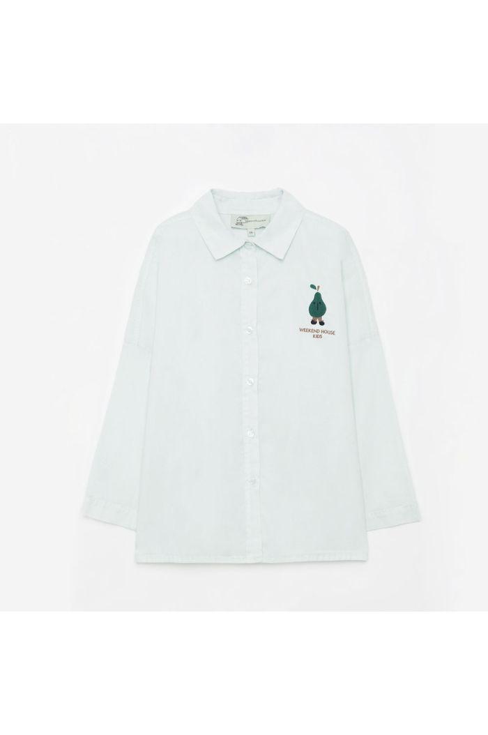 Weekend House Kids Pear shirt Pastel green_1
