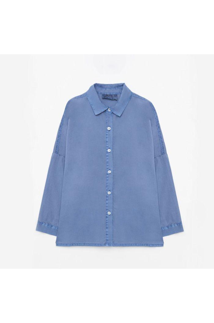 Weekend House Kids Blue horse shirt Blue_1