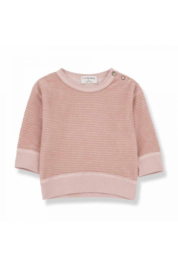 1+ in the family PALAU sweatshirt Rose