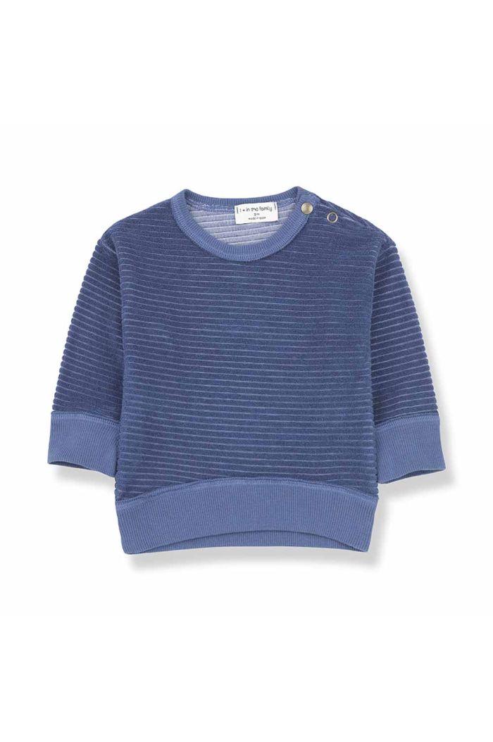 1+ in the family PALAU sweatshirt azzurro