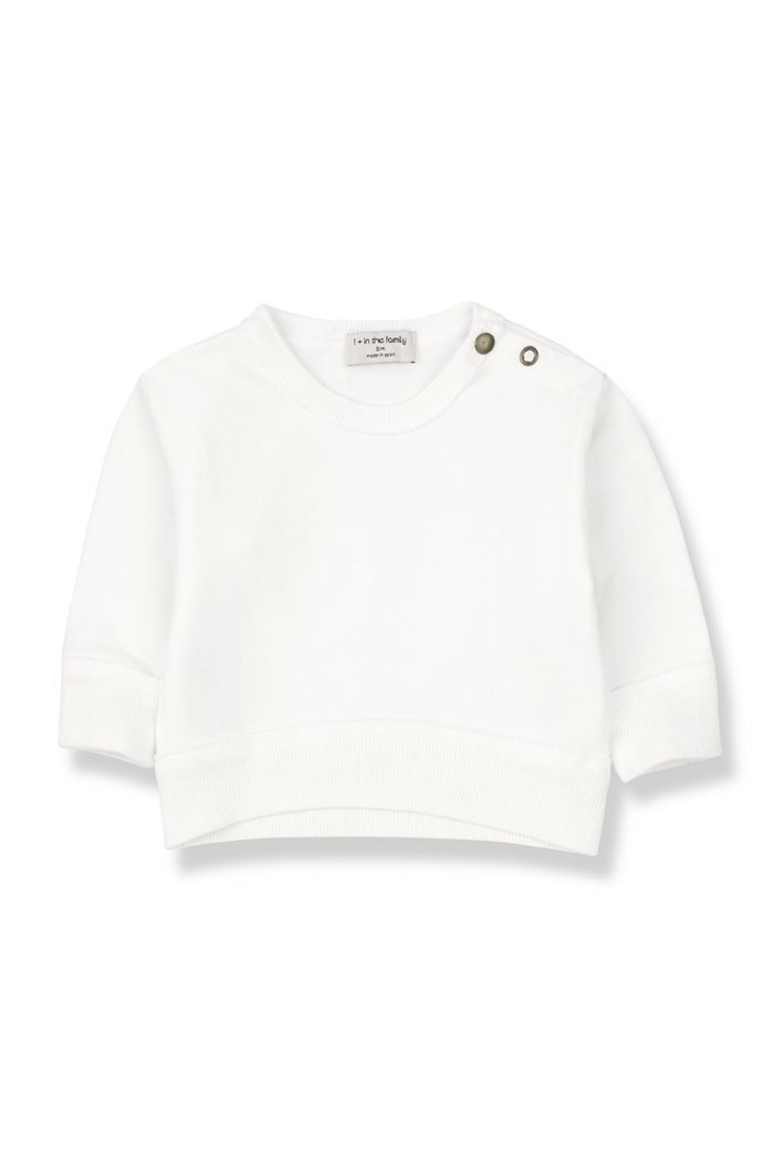 1+ in the family SIRACUSA sweatshirt Off-White