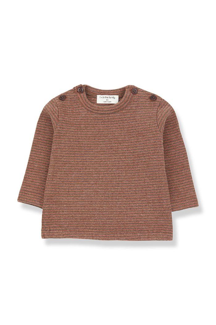1+ in the family JASPER t-shirt toffee/terrau_1