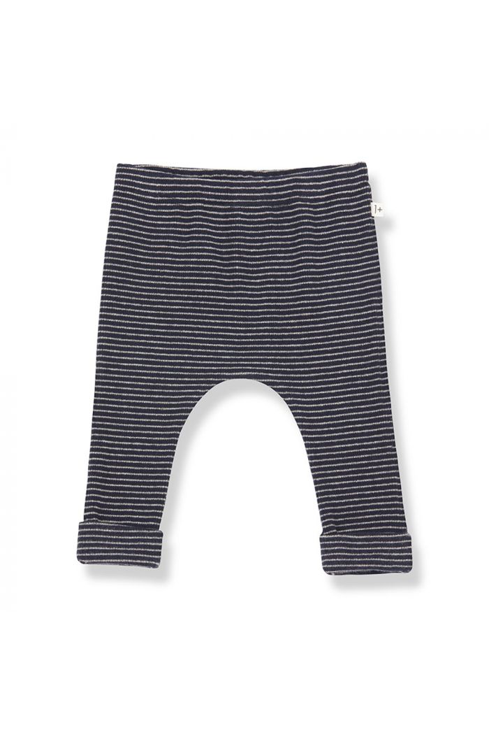 1+ in the family NUNAVUT leggings blue notte/beige_1