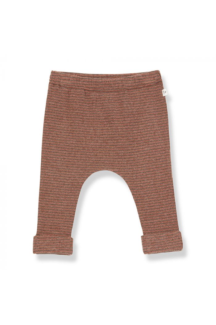1+ in the family NUNAVUT leggings toffee/terrau_1