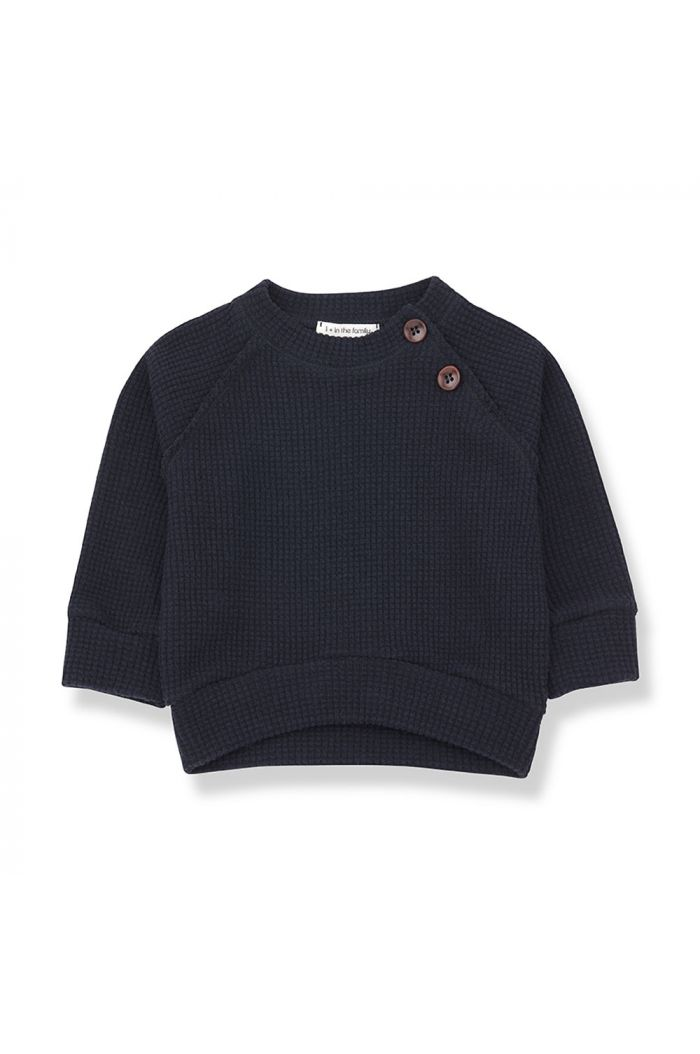 1+ in the family LIVIGNO sweatshirt blue notte_1