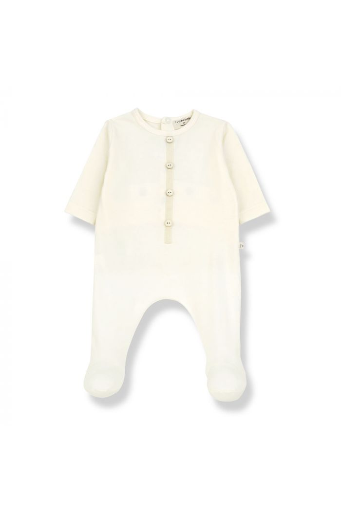 1+ in the family DIDIER Jumpsuit With Feet ecru_1