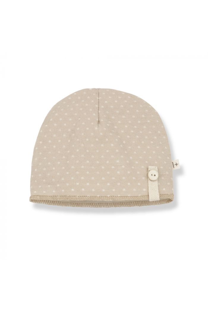 1+ in the family ELISE Beanie Beige_1