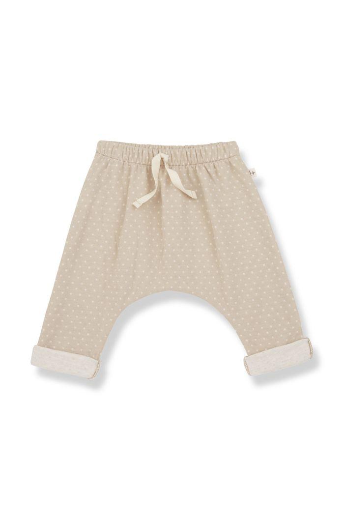 1+ in the family ADRIEN Baggy Pants Beige