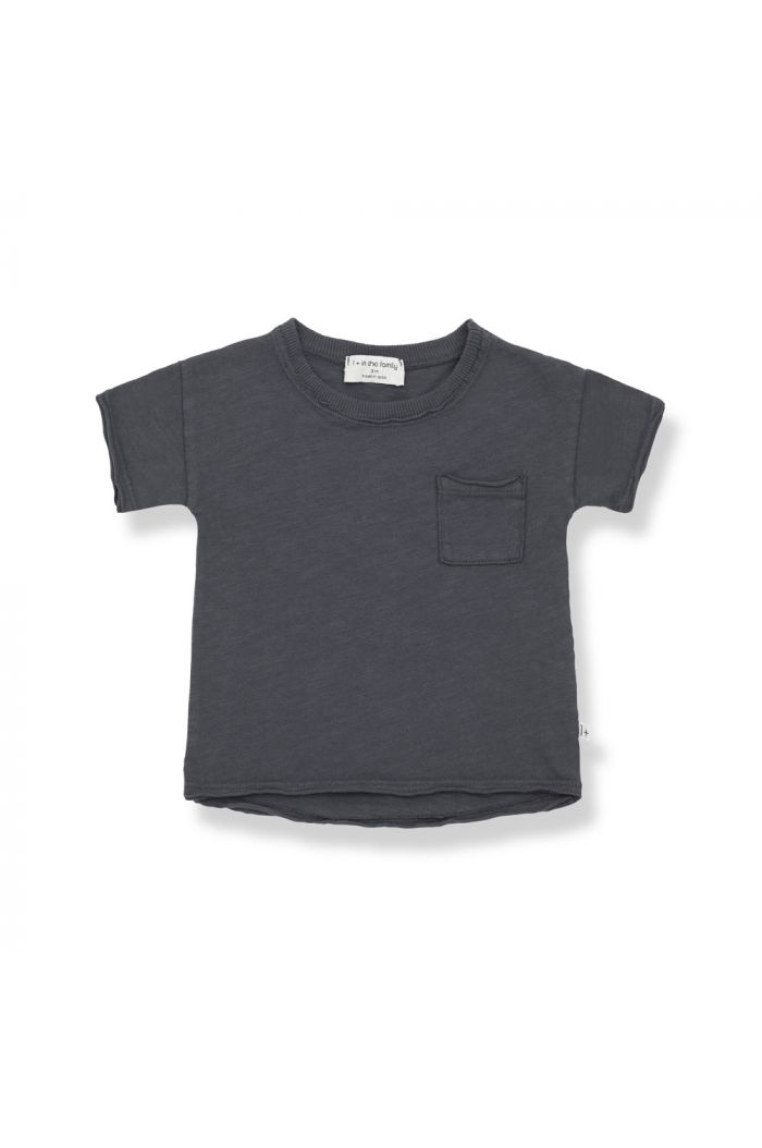 1+ in the family NANI Shortsleeve T-Shirt Anthracite_1