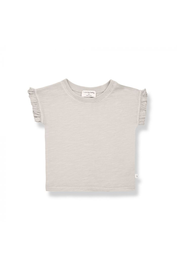 1+ in the family MIREIA Shortsleeve T-Shirt Stone_1
