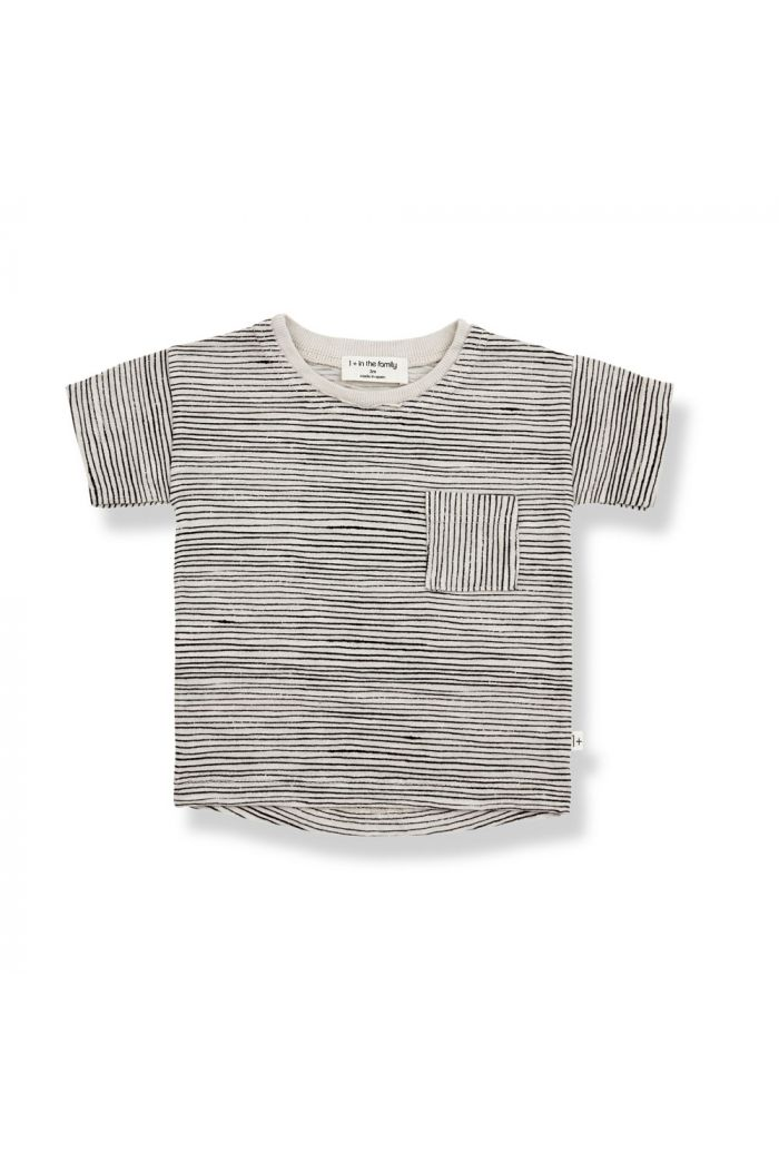 1+ in the family BERNAT Shortsleeve T-Shirt Stone_1