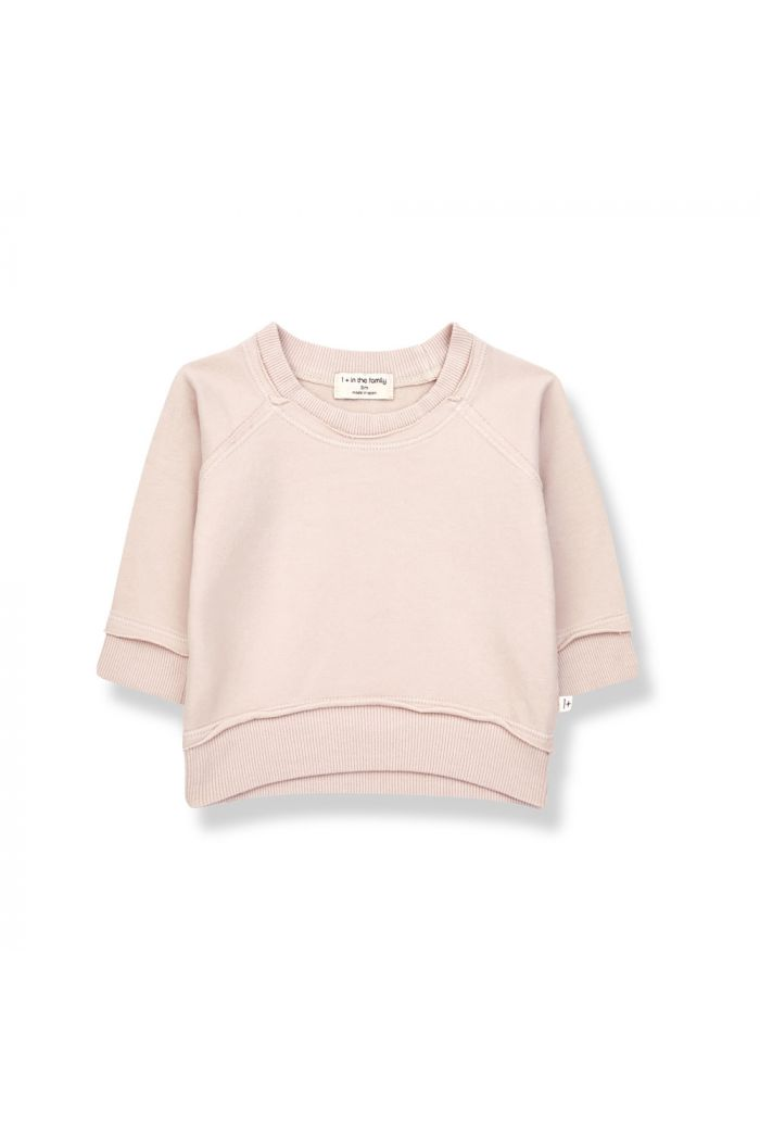 1+ in the family TRISTAN Sweatshirt Rose_1