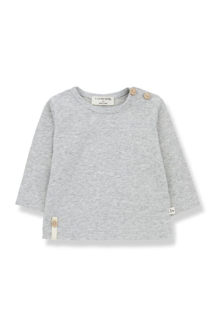1+ in the family NOELLE t-shirt Grey_1