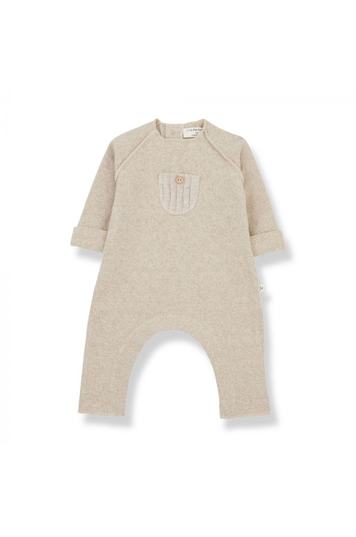 1+ in the family MOISE jumpsuit Cream_1