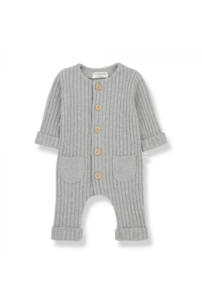 1+ in the family ALAIN-nb jumpsuit Grey_1