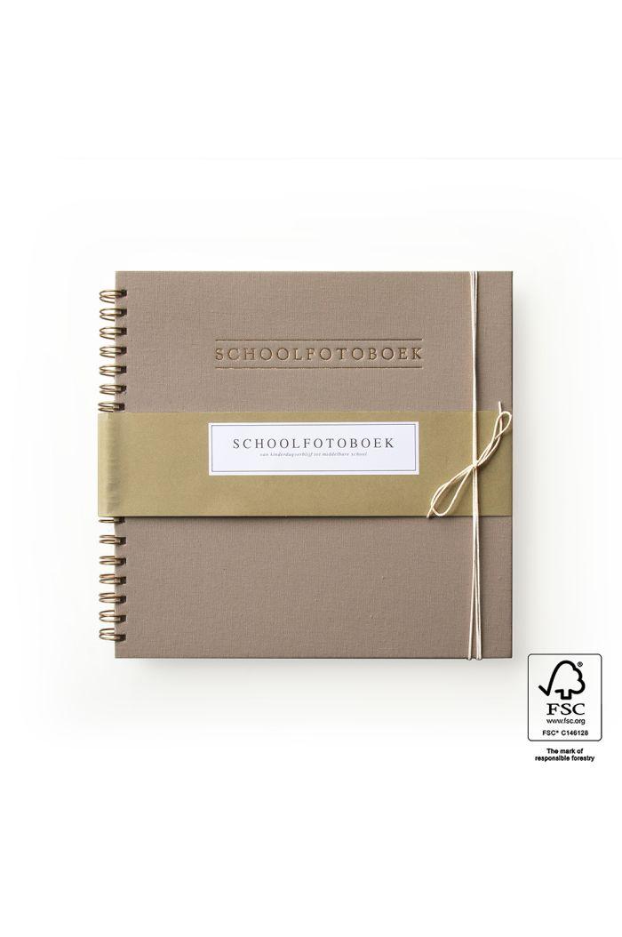 House of Products Schoolfotoboek - Linnen Taupe _1