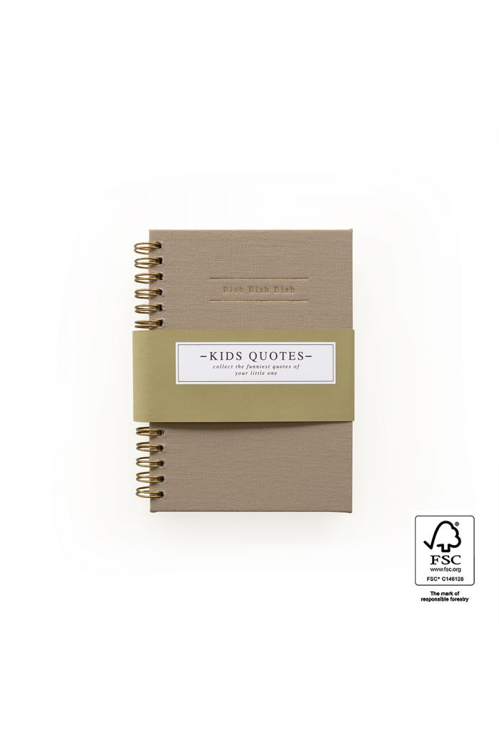 House of Products Kids Quotes - Linen Taupe_1
