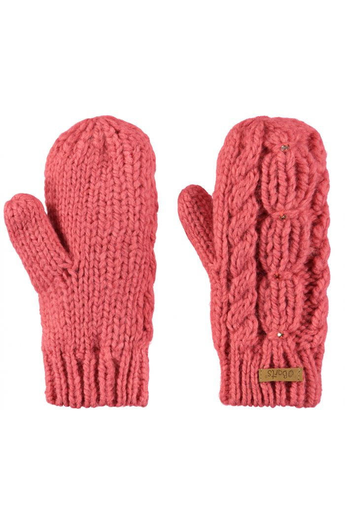 Barts Lux Mitts Coral