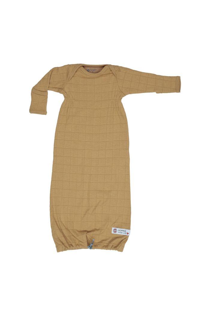 Lodger Hopper newborn solid Sleeping bag Honey