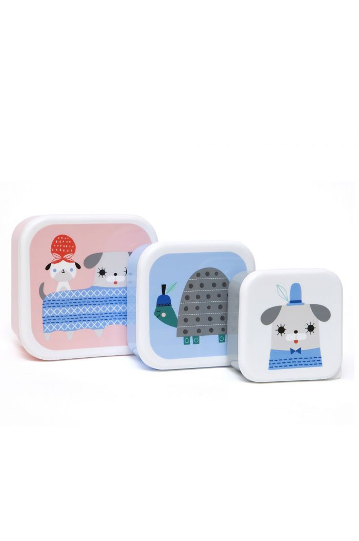 Petit Monkey Lunchbox set Peanut & Co