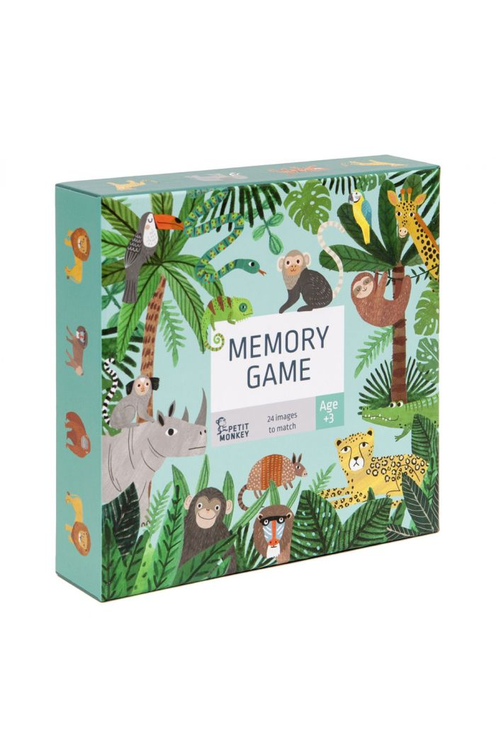 Petit Monkey Memory game jungle animals