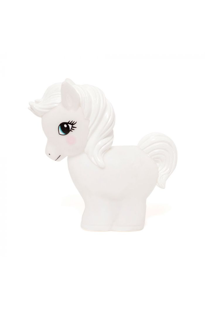 Petit Monkey Horse Night Light White