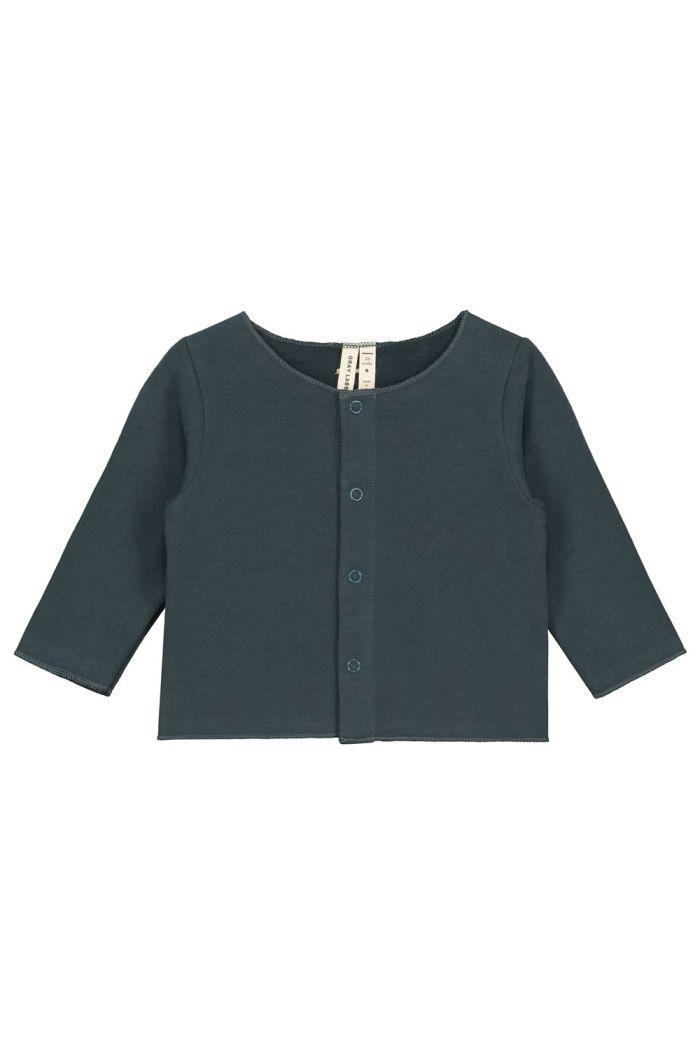 Gray Label Baby Gardigan Blue Grey_1