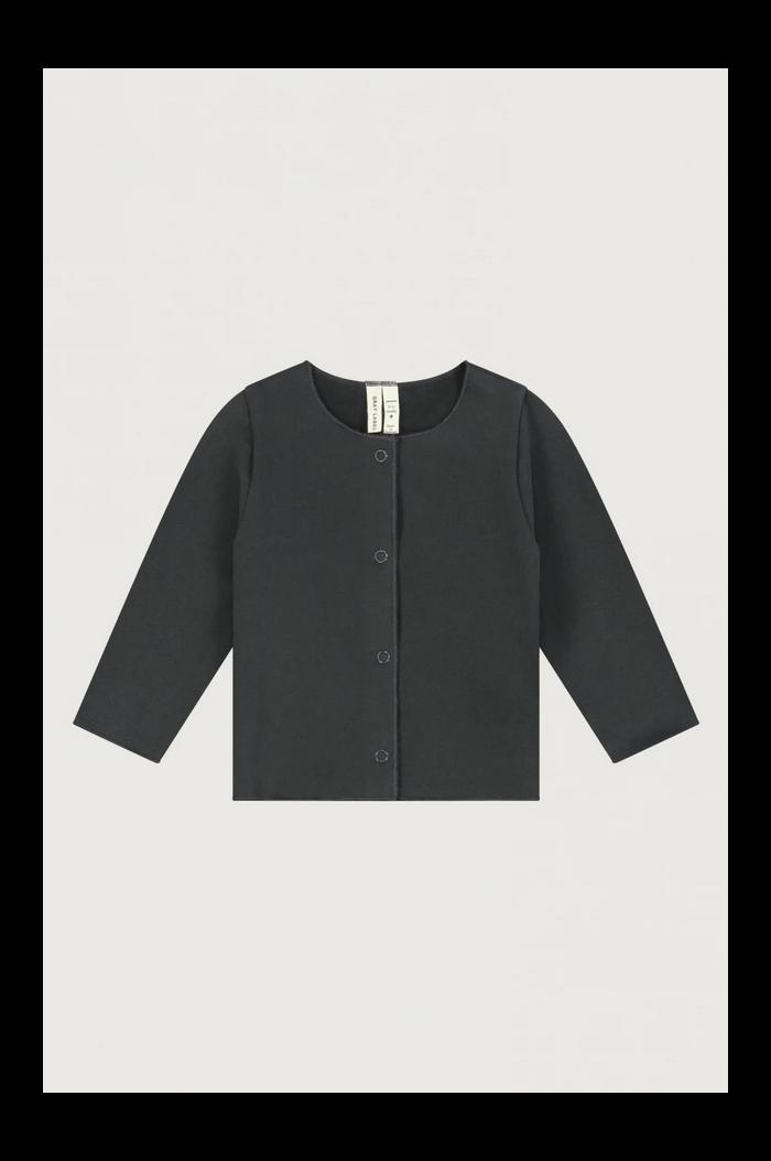 Gray Label Baby Cardigan Nearly Black_1