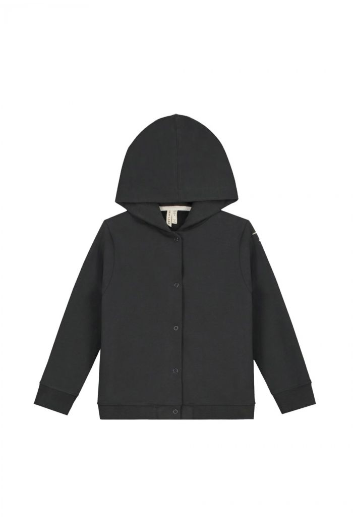Gray Label Hooded Cardigan Nearly Black_1
