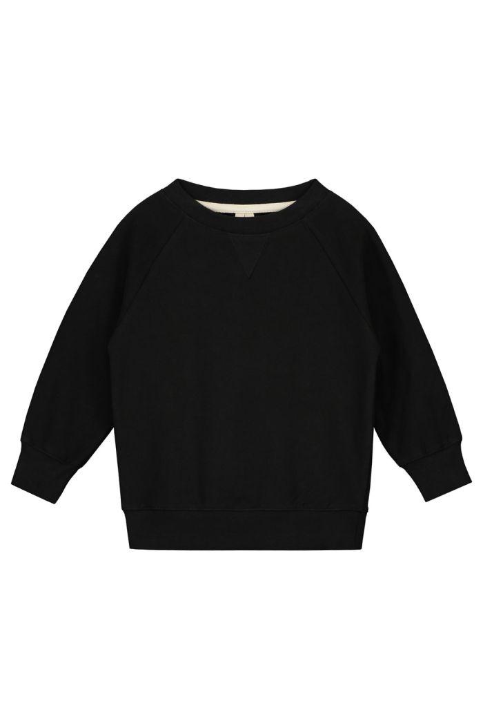 Gray Label Crewneck Sweater Nearly Black_1