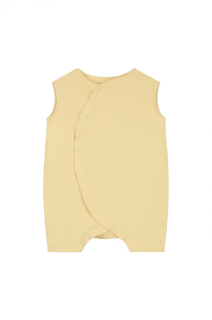 Gray Label Baby Grow with Snaps  Mellow Yellow_1