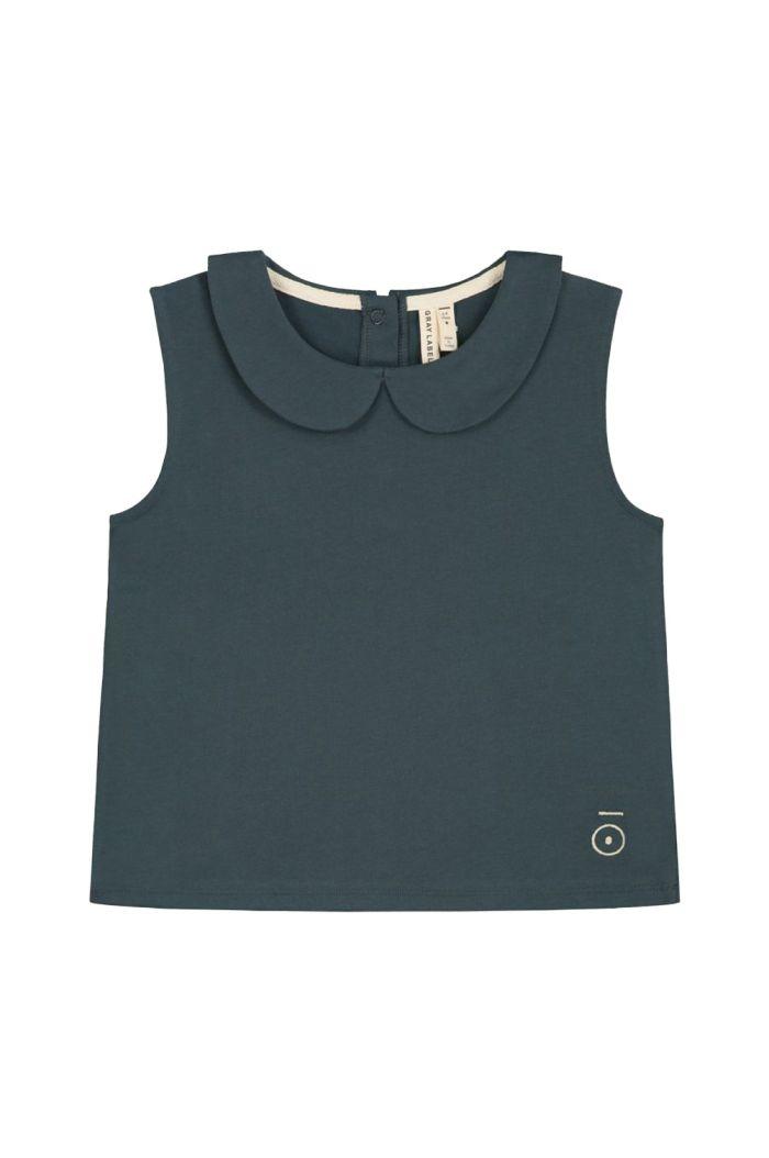 Gray Label Collar Tank Top Blue Grey_1