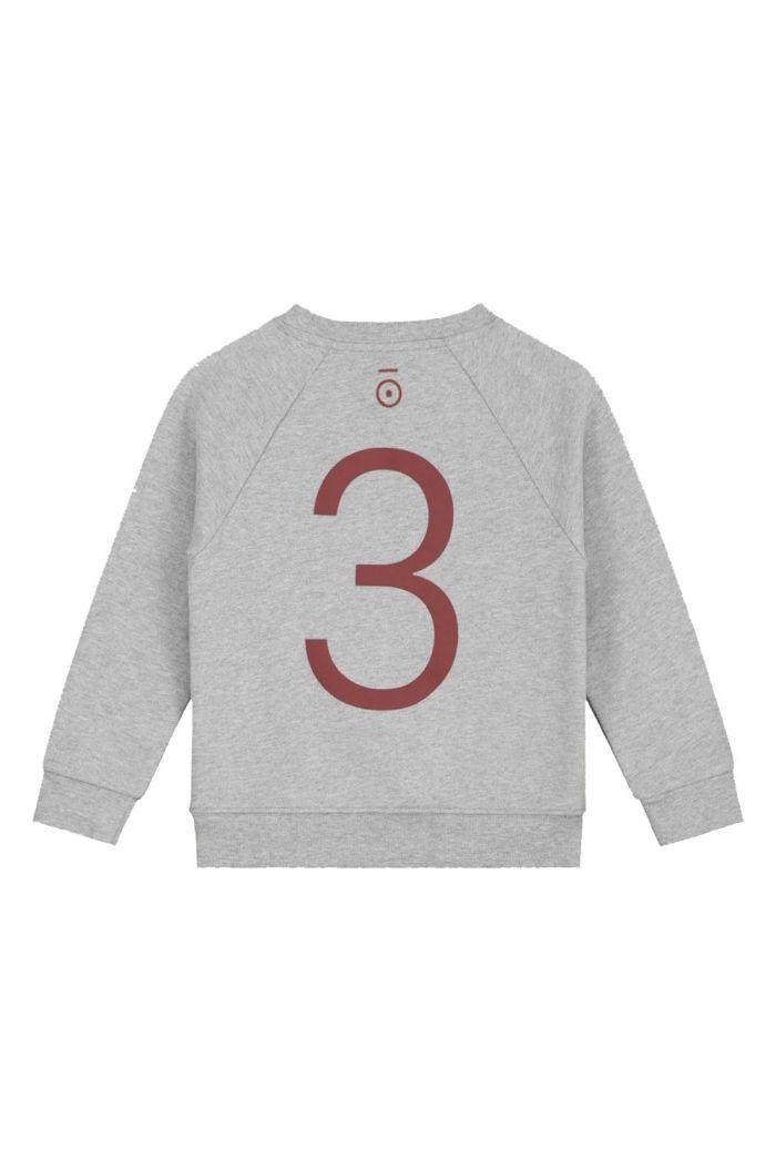 Gray Label Anniversary Sweater  Grey Melange - 3 yr_1