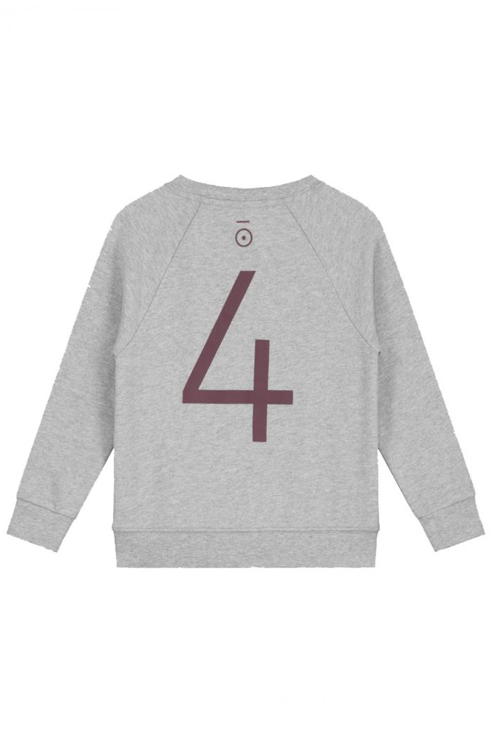 Gray Label Anniversary Sweater  Grey Melange - 4 yr_1