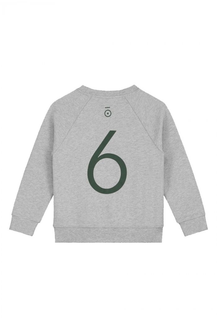 Gray Label Anniversary Sweater  Grey Melange - 6 yr_1