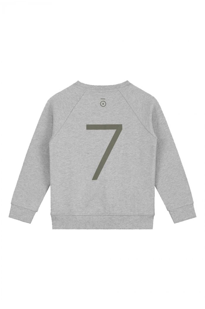 Gray Label Anniversary Sweater  Grey Melange - 7 yr_1