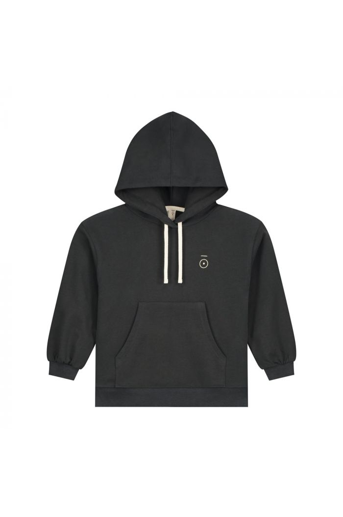 Gray Label Hoodie Nearly Black_1
