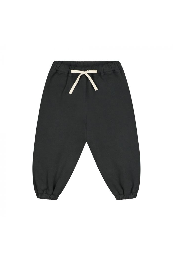 Gray Label Baby Track Pants Nearly Black_1