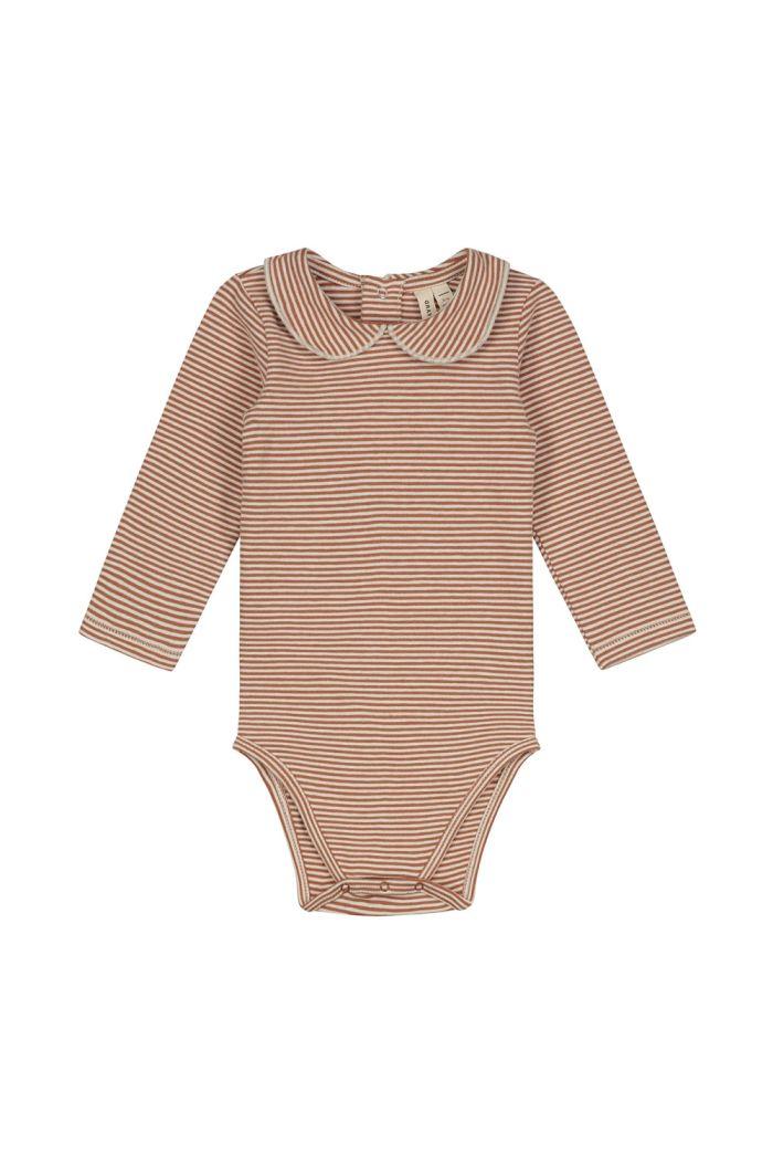Gray Label Baby Collar Onesie Autumn/Cream_1